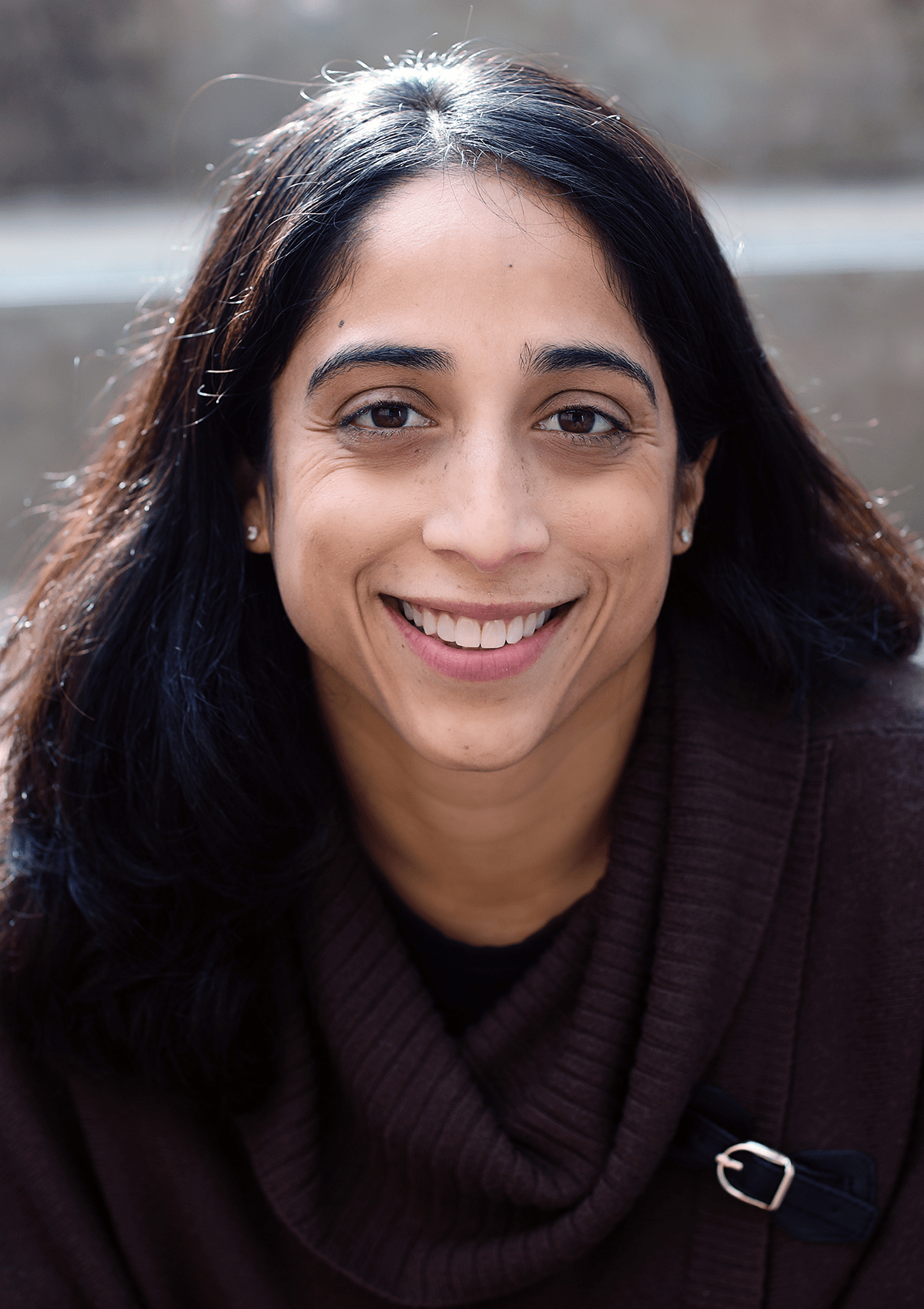 A photo of Theresa Alenghat.