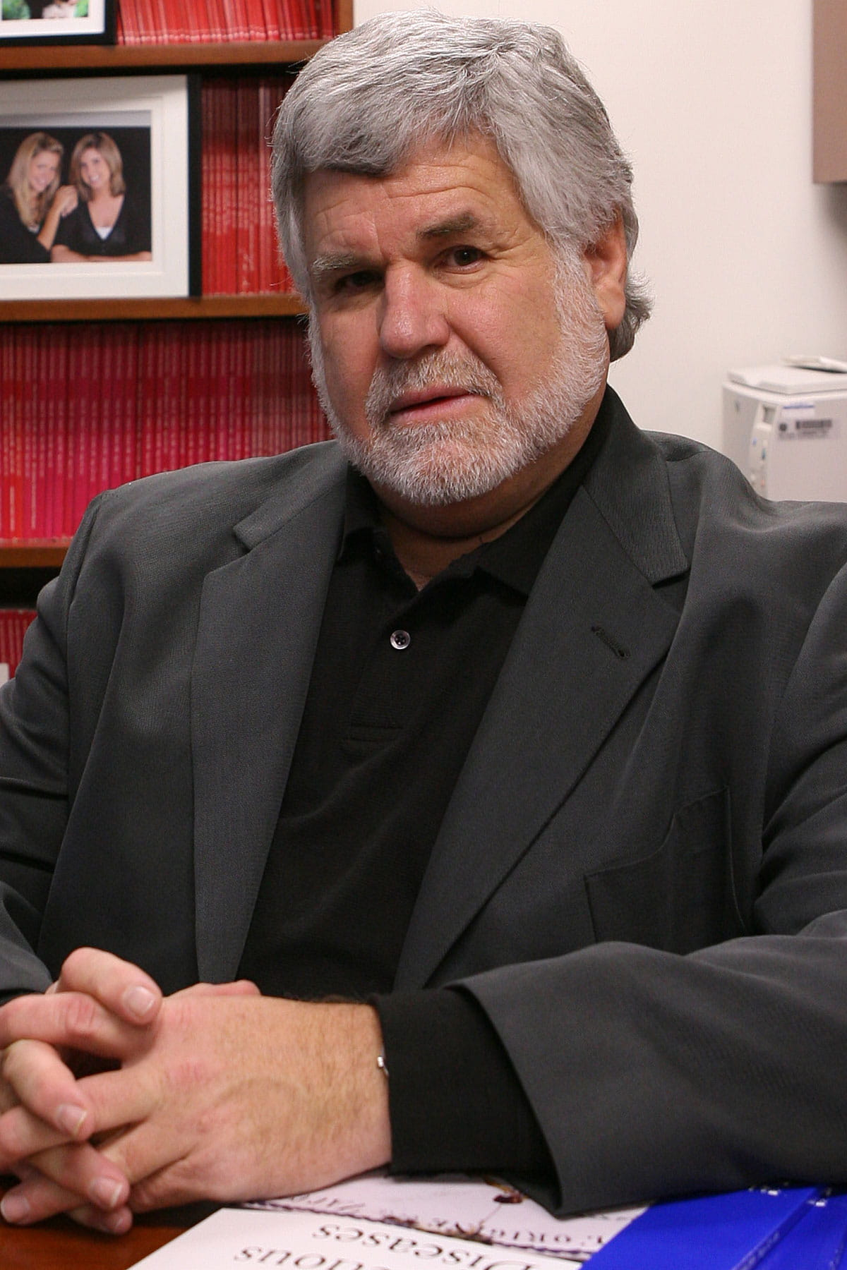 A photo of David Bernstein.