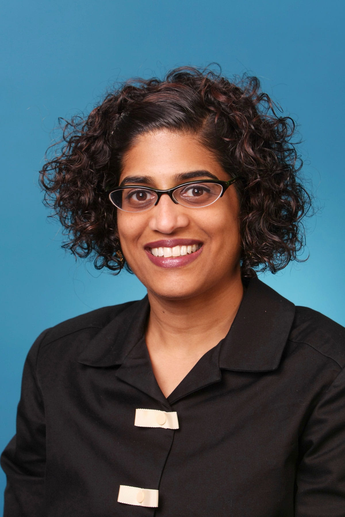 A photo of Sheila Chandran.