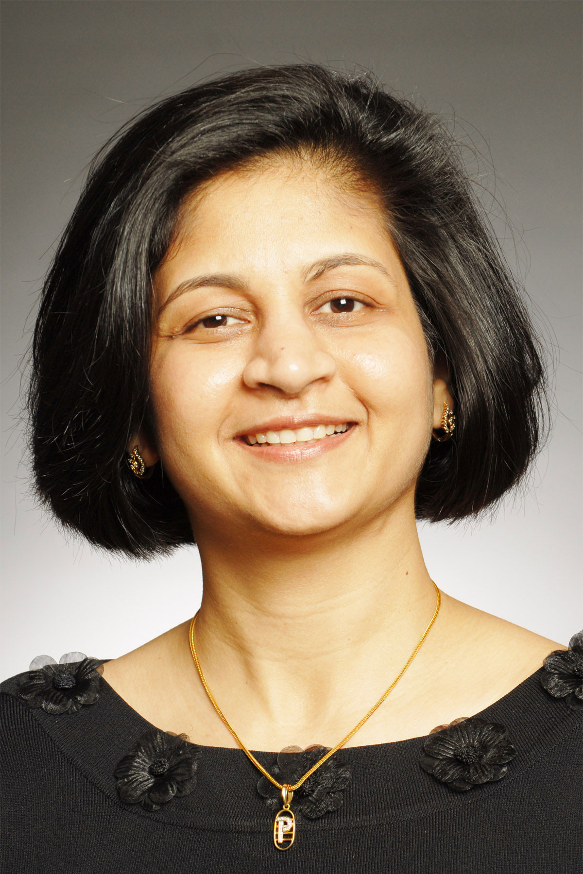 A photo of Parinda Mehta.