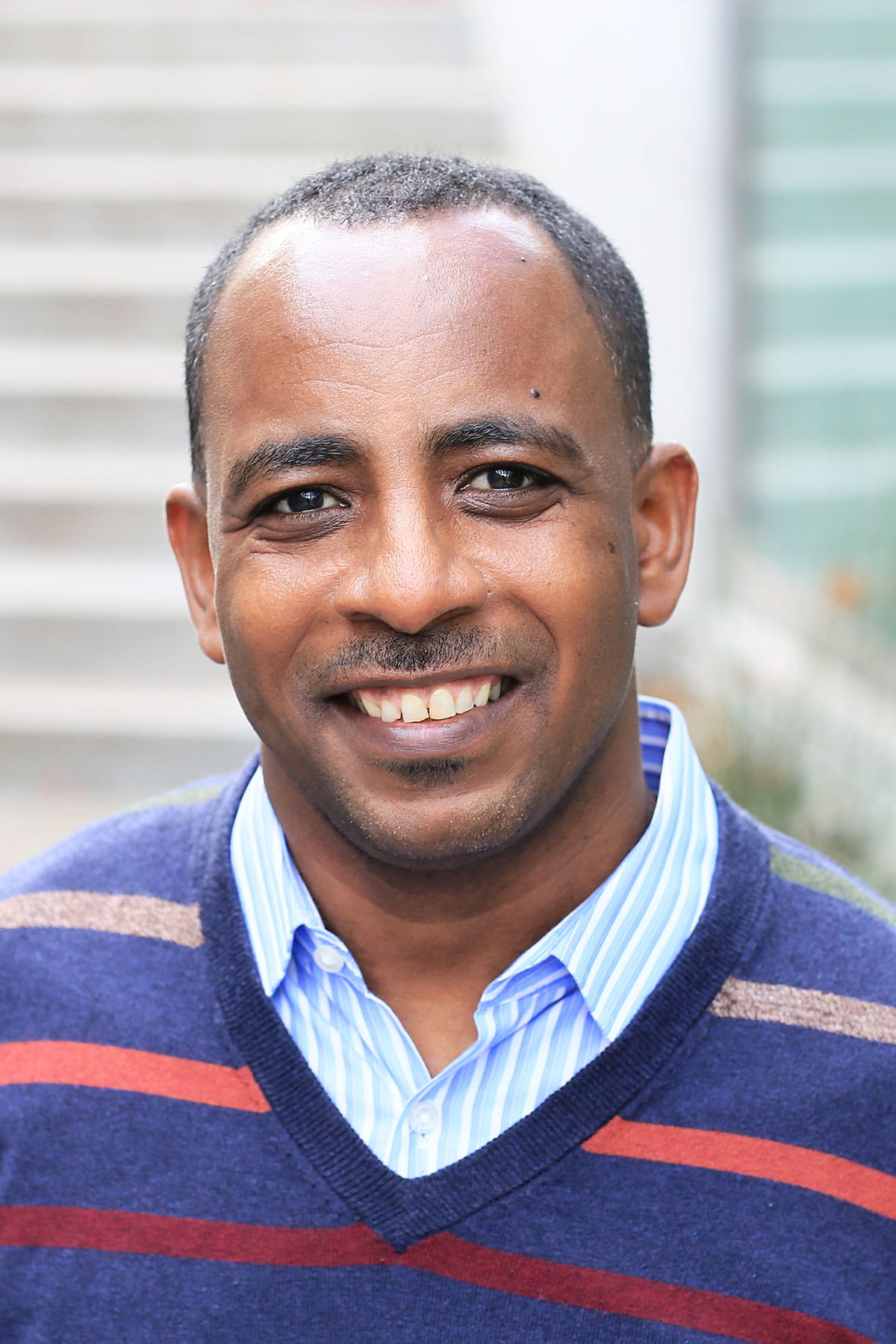 A photo of Tesfaye Mersha.