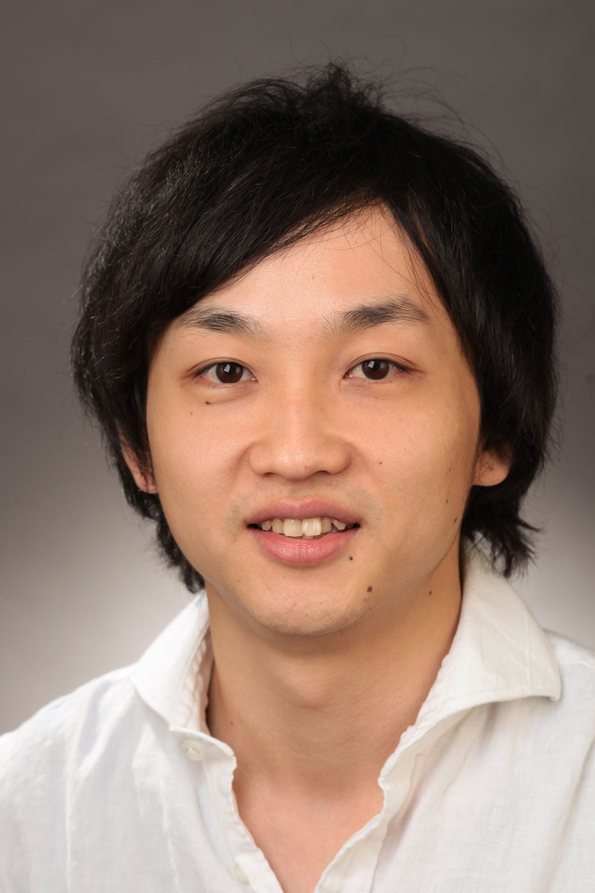 A photo of Takanori Takebe.