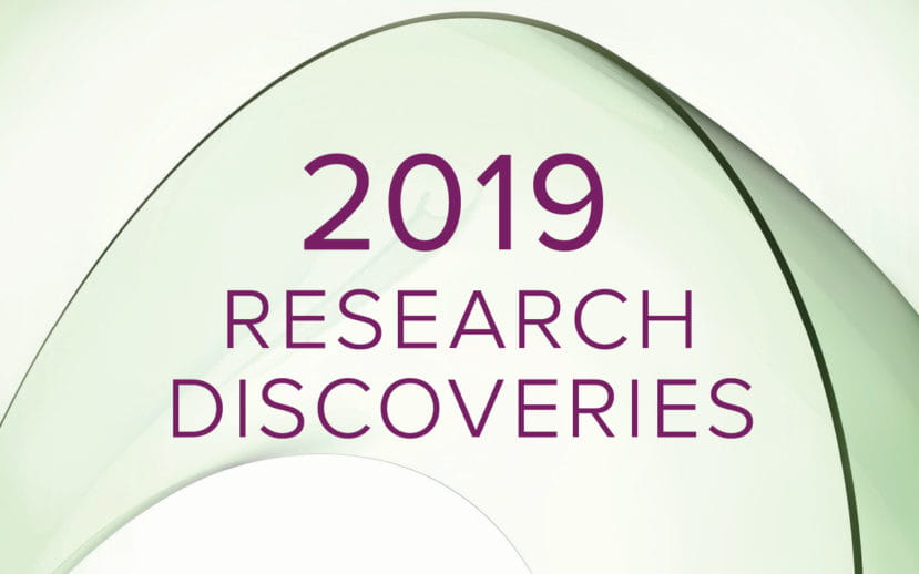 Our 2019 Research Annual Report is Live