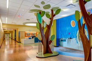 Take a virtual tour of the Cancer and Blood Diseases Institute at Cincinnati Children's Liberty Campus.