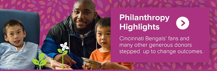 Philanthropy highlights from our 2015 annual report.