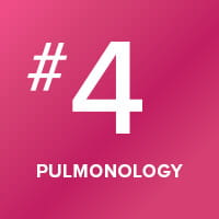 Our pulmonology program is ranked number four in the nation.
