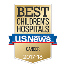 The Cancer and Blood Diseases Institute was rated among the best in the country in the list of Best Children's Hospitals published by US News & World Report.