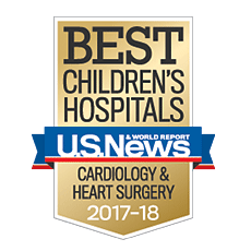 Our cardiology and heart surgery program ranks among the best by U.S. News & World Report.