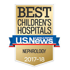 Our nephrology program ranks among the best by U.S. News & World Report.