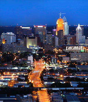 Learn more about Cincinnati.