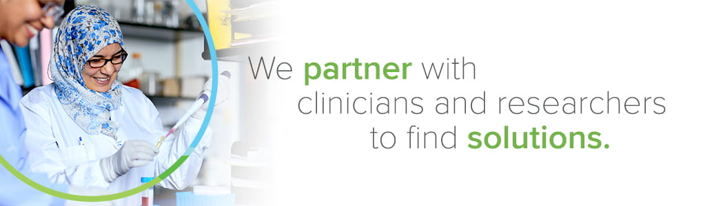 At Cincinnati Children's we partner with clinicians and researchers to find solutions.