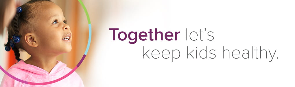 Together let's keep kids healthy at Cincinnati Children's.