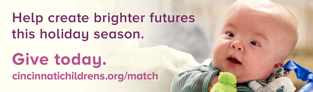 Give today and help create brighter futures this holiday season.