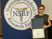 Student Research Accomplishments   Summer Medical Student