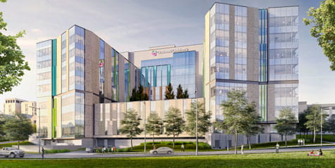 Artist rendering of our new Critical Care Buildling.