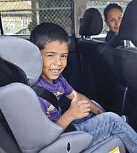 Buckle up to help kids stay safe.