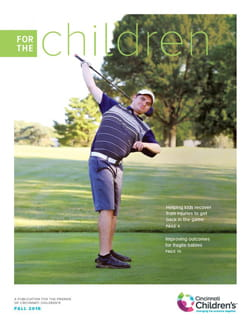 Cover image for the Fall 2016 issue of For the Children.