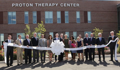 Proton Therapy Center grand opening.