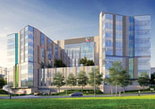 Artist rendering of new Critical Care Building.