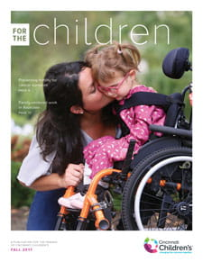 Cover of the Fall 2017 issue of For the Children.