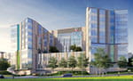 Artist rendering of our new critical care building.