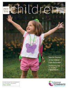 Cover image of For the Children Fall 2018 issue.