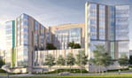 Artist rendering of the Critical Care Building.