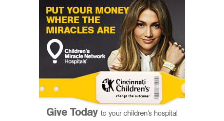 Give today to your children's hospital.