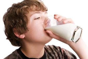 Teen Obesity Milk
