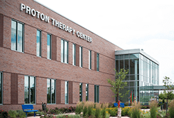 An image of the Proton Therapy Center.