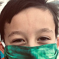 Tips to get kids to wear face masks.