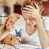 Tips for stressed parents during COVID-19.