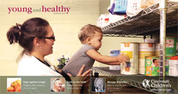 Cover image of the print version of Young and Healthy.