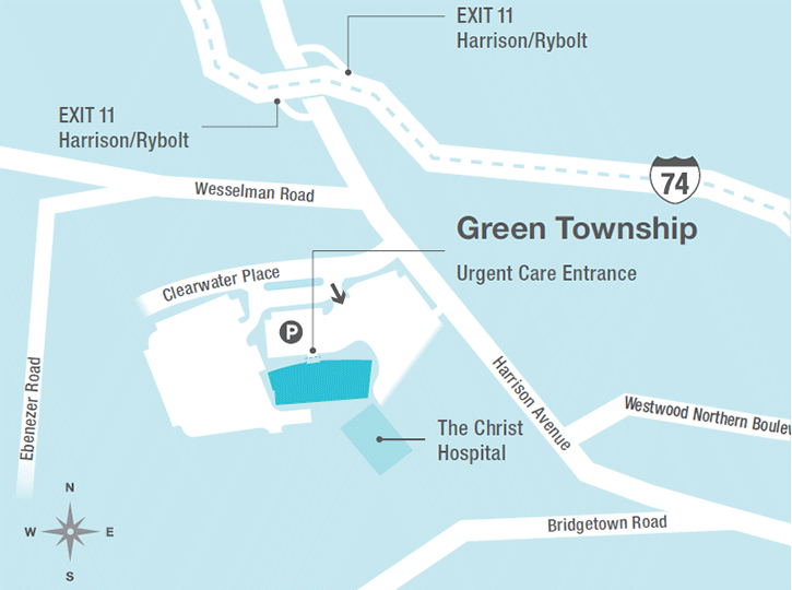 Green Township Ohio Map.Green Township Directions Location Information