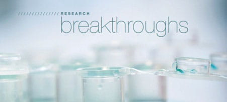 Read about our latest breakthroughs in the 2012 Research Annual Report.