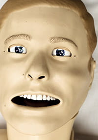 Mannequins play a growing role in training medical students, residents, nurses and other staff.