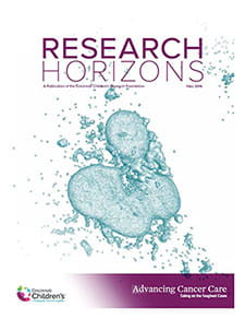 Research Horizons Fall 2016.