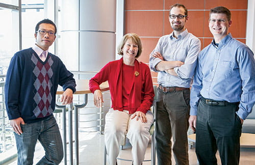 Yizhao Ni, PhD; Cindy Prows, MSN; Keith Marsolo, PhD; and Todd Lingren, MS.