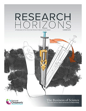Research Horizons Summer 2018 cover.