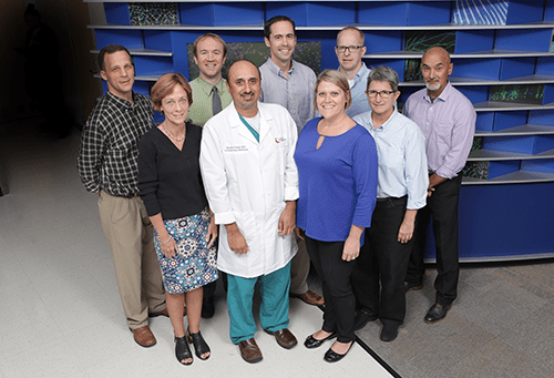 Faculty members from Critical Care Medicine.
