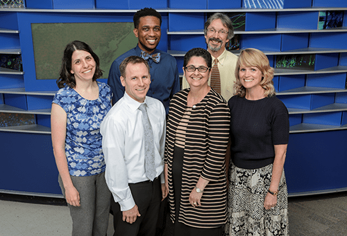 A photo of faculty members from Adolescent and Transition Medicine.