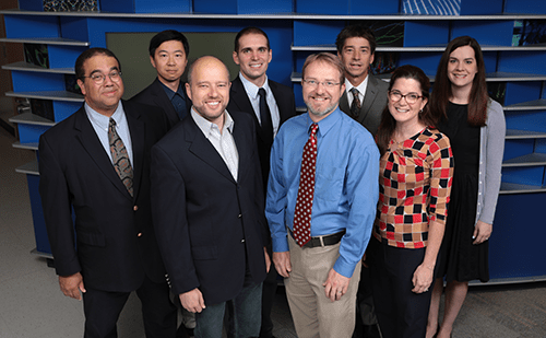 A photo of faculty members from Allergy and Immunology.