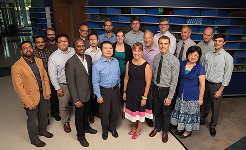 A photo of faculty members from Biomedical Informatics.