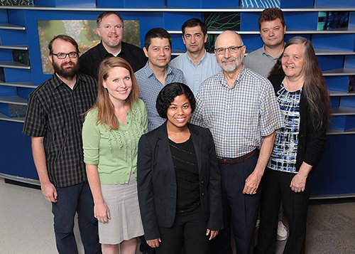 A photo of faculty members from the Center for Autoimmune Genomics and Etiology.