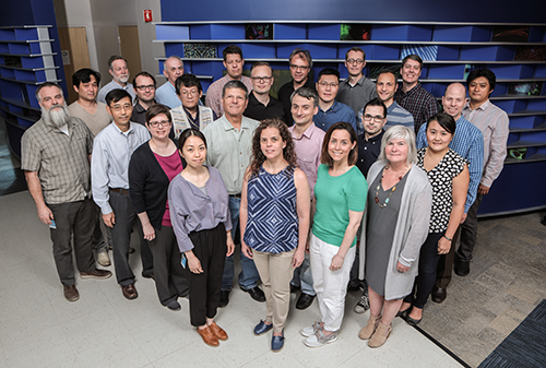 A photo of faculty members from Developmental Biology.