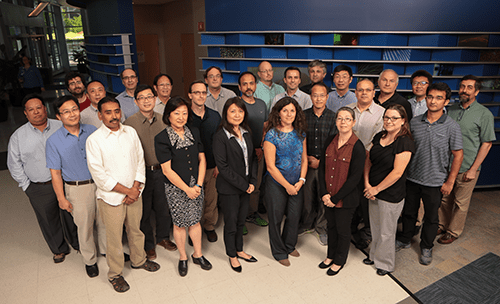A photo of faculty members from Experimental Hematology.