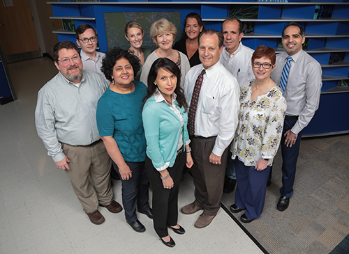A photo of faculty members from Hematology.