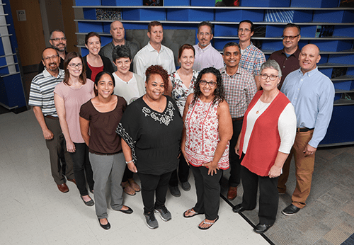 A photo of faculty members from Immunobiology.