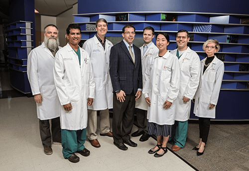 A photo of faculty members from Neurosurgery.