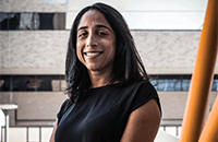A photo of Theresa Alenghat, VMD, PhD.